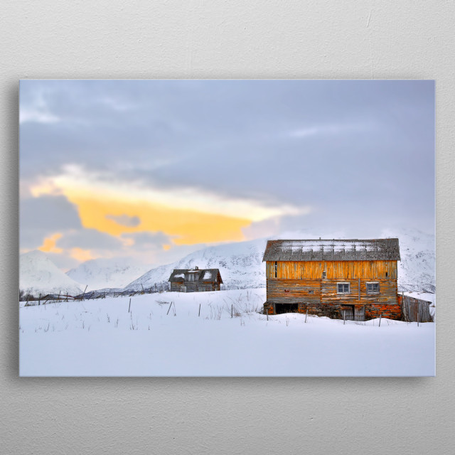 Landscapes of Norway | Image Chantelle Flores   metal poster