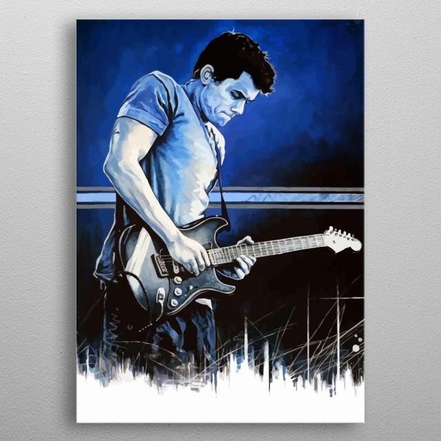 John Mayer Design Just For Folk Music Lovers. metal poster