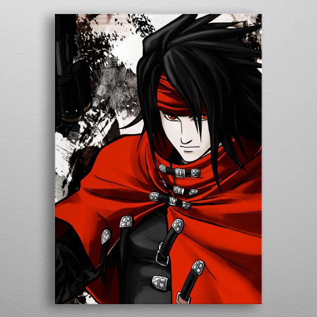 Vincent Valentine Grunge metal poster