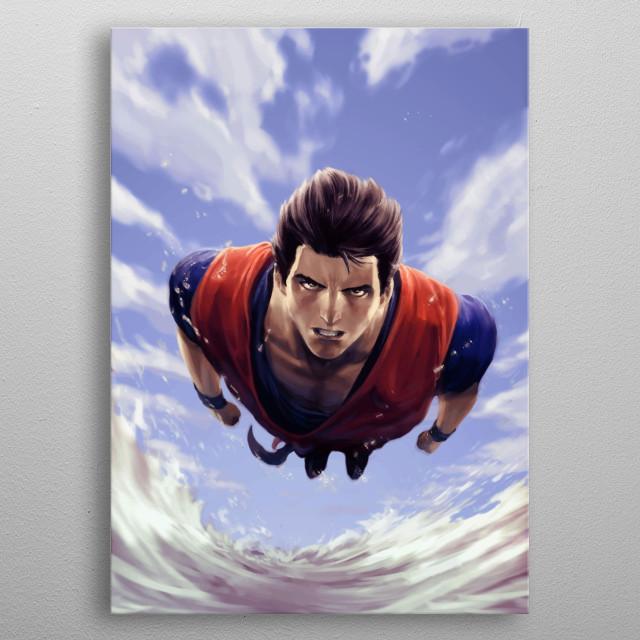 Gohan Design Just For Anime Lovers. metal poster
