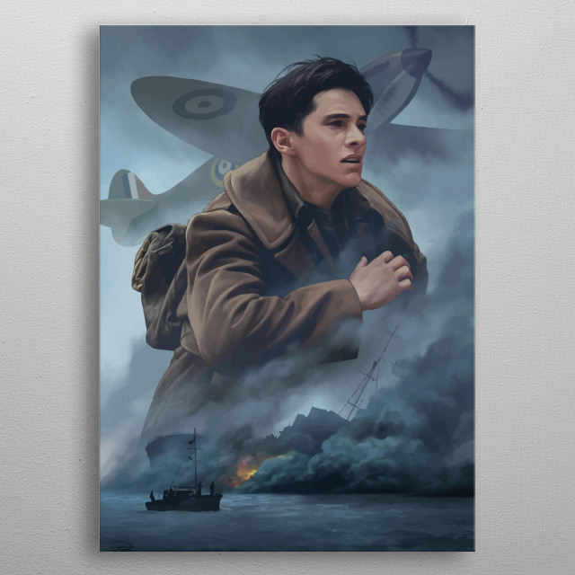Dunkirk Design Just For The Movie Lovers. metal poster
