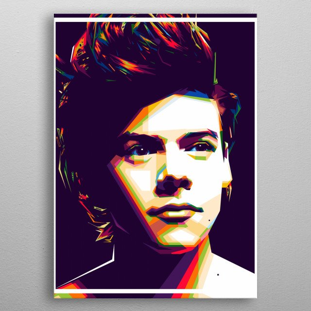 Harry styles Design Just For Harry Styles Lovers. metal poster