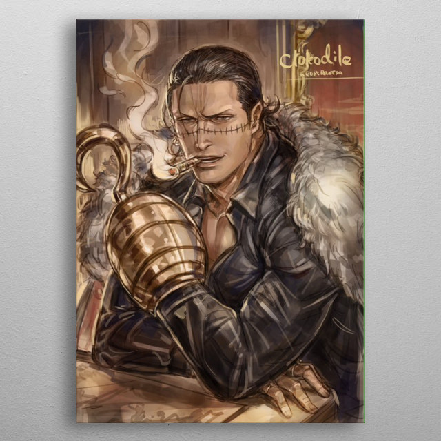 This marvelous metal poster designed by MEEKNEIL to add authenticity to your place. Display your passion to the whole world. metal poster