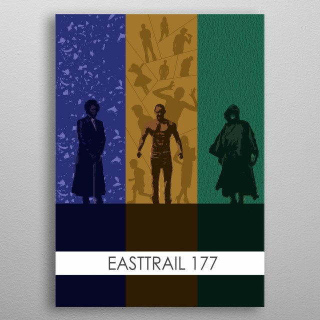 The Easttrail 177 Trilogy. Unbreakable, Split, Glass. metal poster