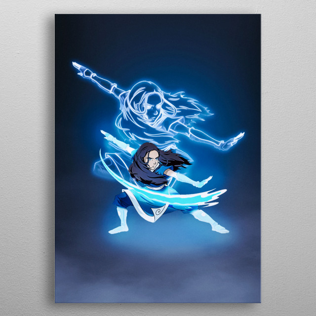 Katara Poster from Avatar The Last Airbender metal poster