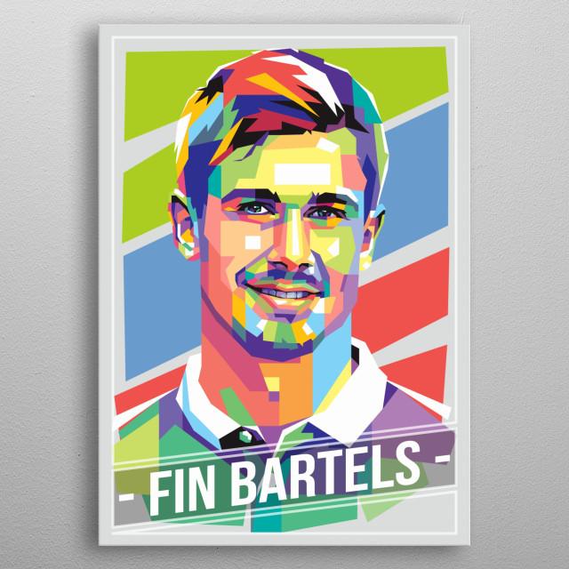 German professional footballer who plays for Werder Bremen in the Bundesliga, either as midfielder or as a striker. metal poster