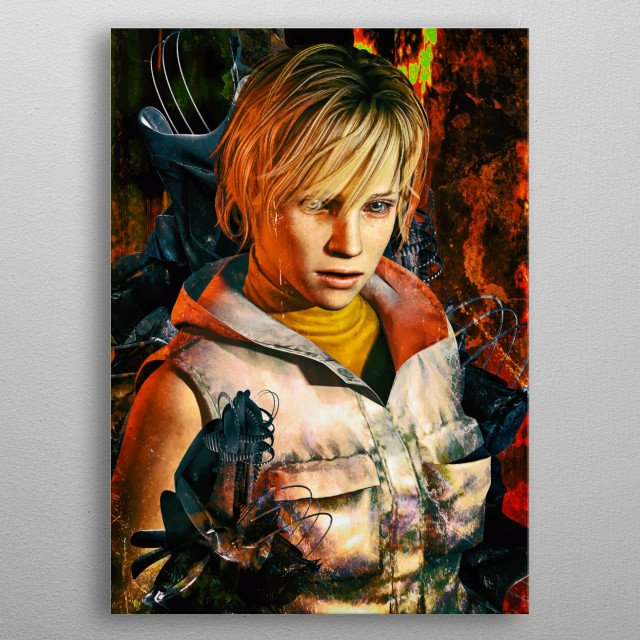 Silent Hill 3 ultimate fanart tribute to the series. metal poster