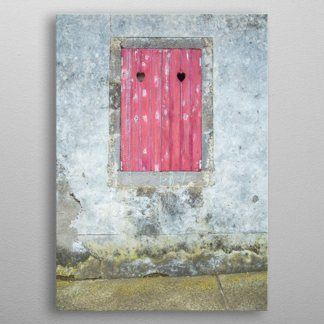 Doors of the Azores  | Image by Chantelle Flores  metal poster