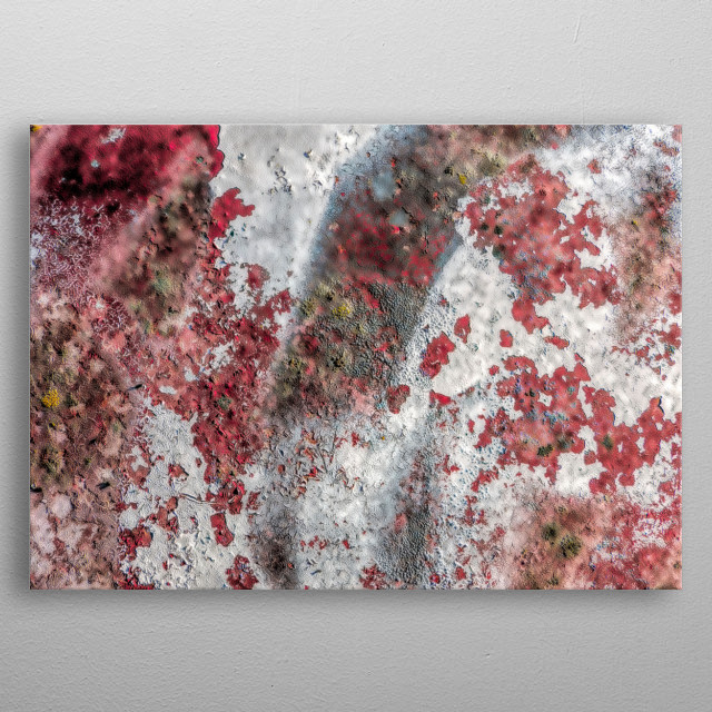 artistic abstract background for home decor metal poster