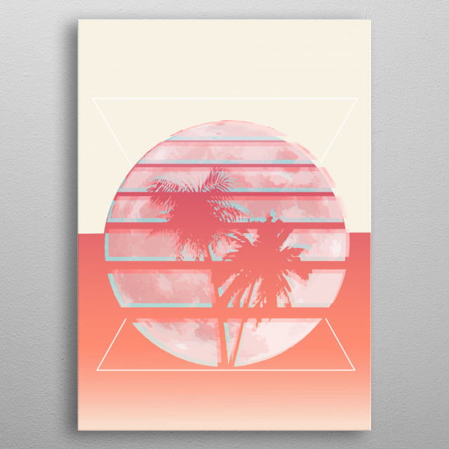 There's no description for this design.  metal poster