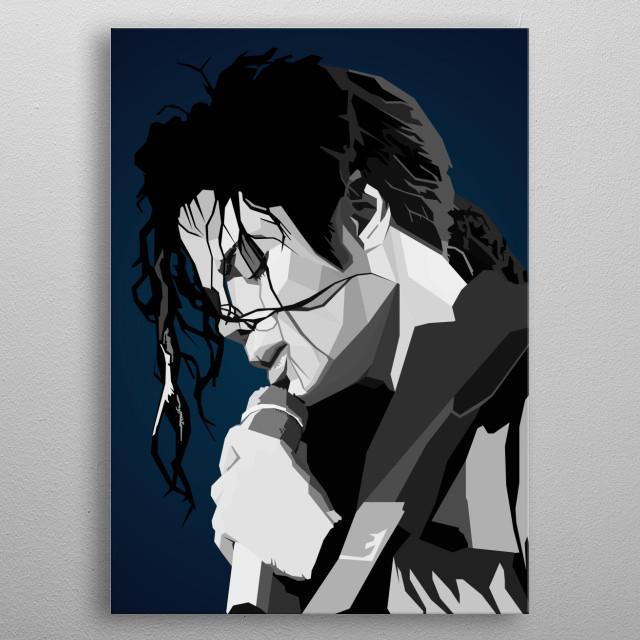 Michael Jackson quotes popart wpap kingofpop music singer metal poster