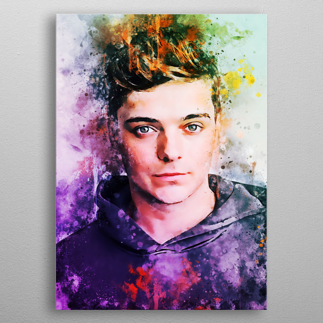 Martin Garrix is a Dutch DJ and record producer from Amstelveen. His most known singles are Animals. metal poster