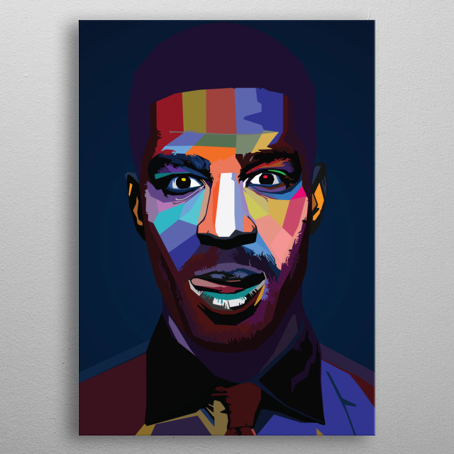 Kid Cudi Quotes popart wpap rapper singer music artist  metal poster
