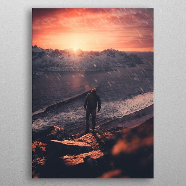 High-quality metal wall art meticulously designed by sublimenation would bring extraordinary style to your room. Hang it & enjoy. metal poster