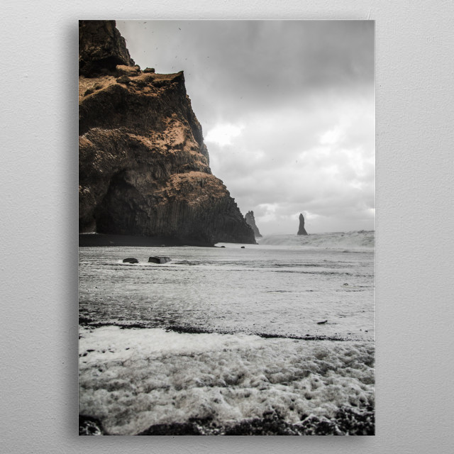 Landscapes of Iceland  | Image by Chantelle Flores   metal poster