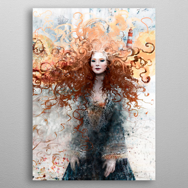 Happiness and power over one's destiny.  Featured in EXPOSÉ 10 by Ballistic, in the Excellence category. metal poster