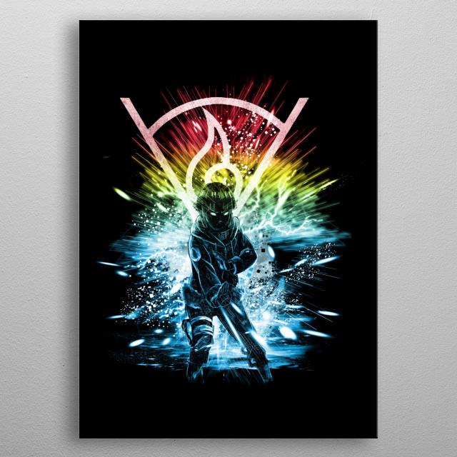 hyuga clan    metal poster