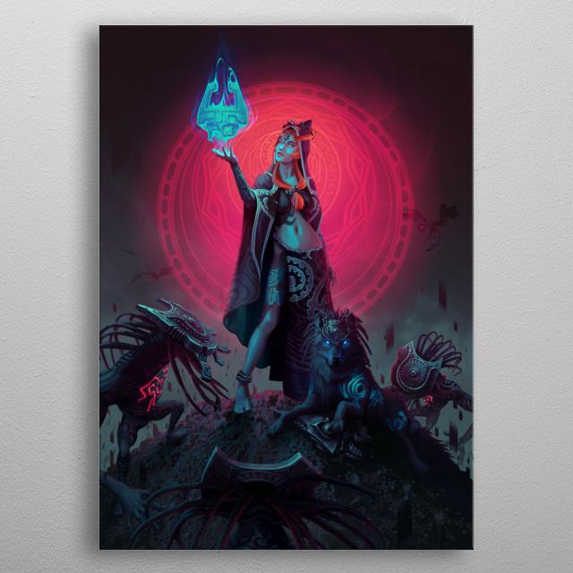 Do you ever feel a strange sadness as dusk falls? metal poster
