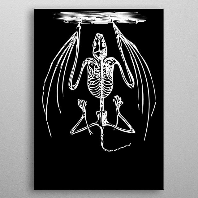 Minimalist Vintage Art metal poster