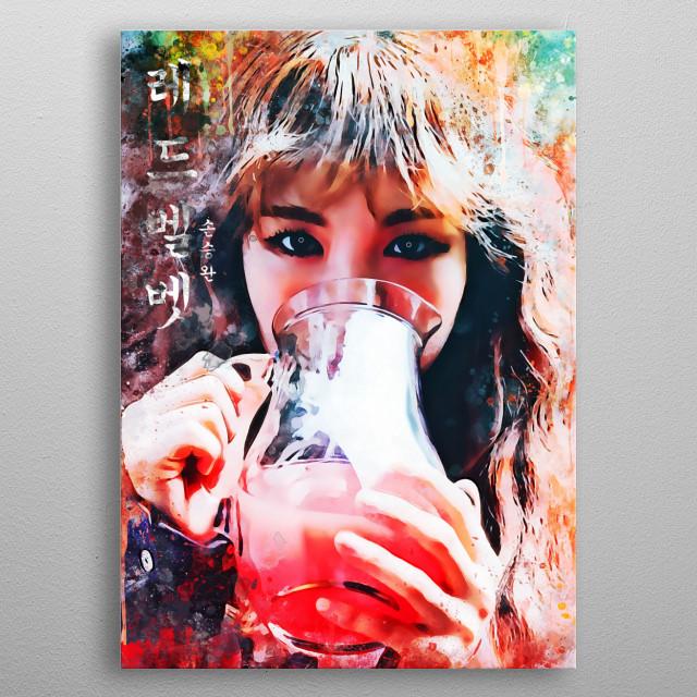 Wendy, is a South Korean singer. She is a member of the South Korean girl group Red Velvet. metal poster