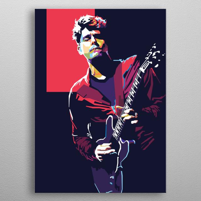 John Mayer in WPAP Art metal poster