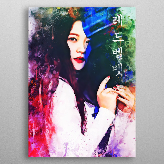 Yeri, is a South Korean singer. She is a member of South Korean girl group Red Velvet. metal poster