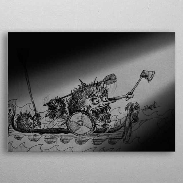 The Prickle Puppets take on a Viking role as they sail to Norway metal poster