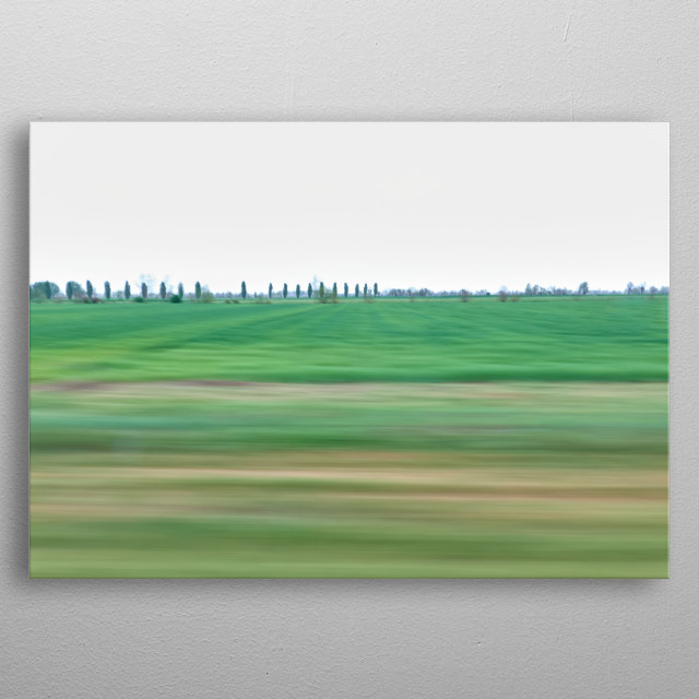 High-quality metal print from amazing Landscape collection will bring unique style to your space and will show off your personality. metal poster
