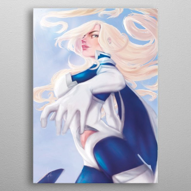 Amihan is a Wind Superhero, who's powers came from the Philippine Mythological Deity Amihan bird who was been lost along time ago.         metal poster