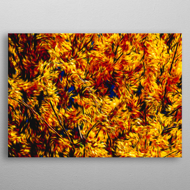 abstract flame background for decoration metal poster