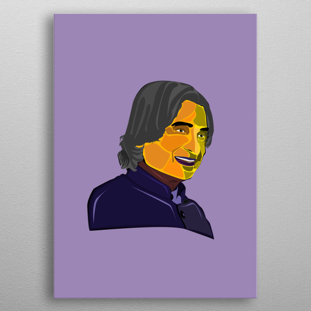 Abdul Kalam, former Indian President and great Scientist. metal poster