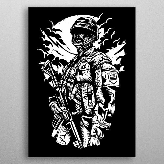High-quality metal wall art meticulously designed by aloke would bring extraordinary style to your room. Hang it & enjoy. metal poster