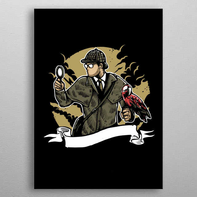 High-quality metal print from amazing Illustrations I collection will bring unique style to your space and will show off your personality. metal poster