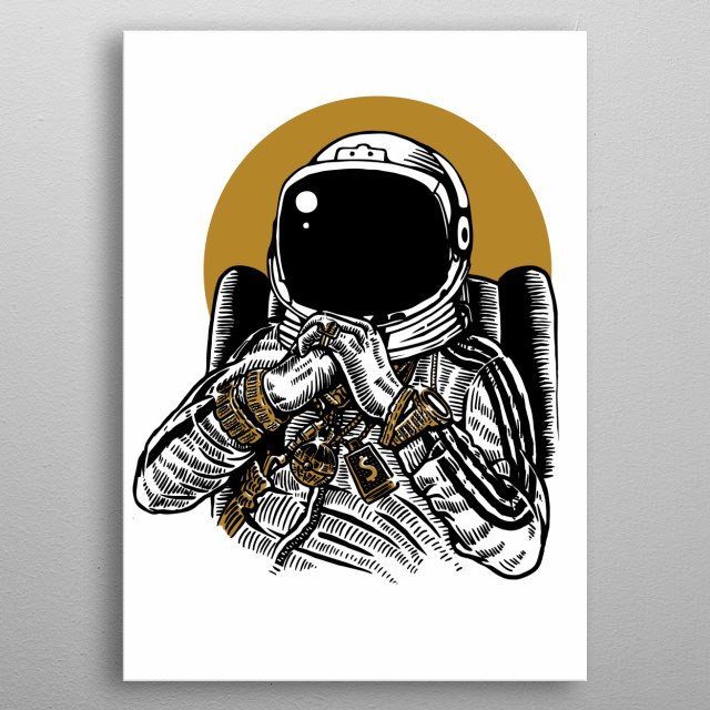 This marvelous metal poster designed by aloke to add authenticity to your place. Display your passion to the whole world. metal poster