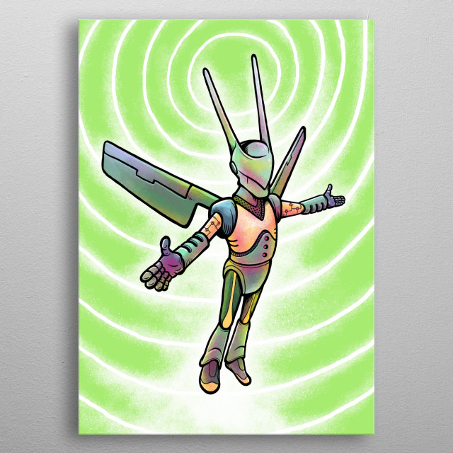 Your friendliest wifi sharing super friend. Hot Spot can solve your mobile data problem. metal poster
