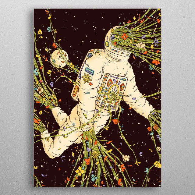 Out of body metal poster