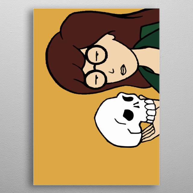 DARIA SHOW metal poster