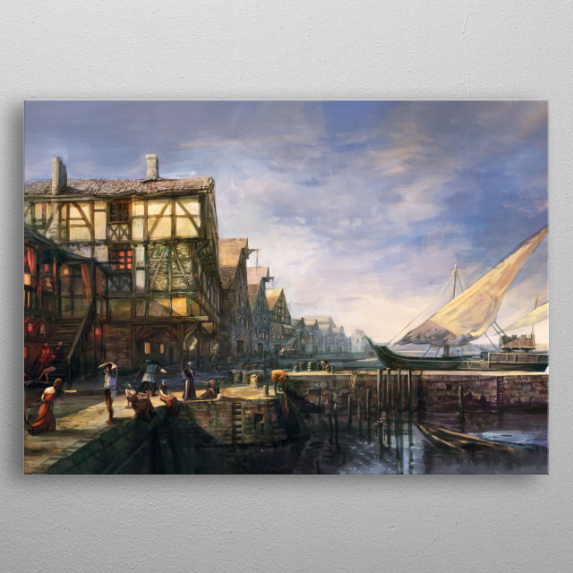 High-quality metal wall art meticulously designed by Witcher3 would bring extraordinary style to your room. Hang it & enjoy. metal poster