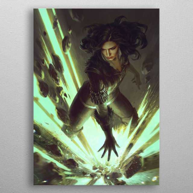 Fascinating metal poster designed by GWENT  . Displate has a unique signature and hologram on the back to add authenticity to each design. metal poster