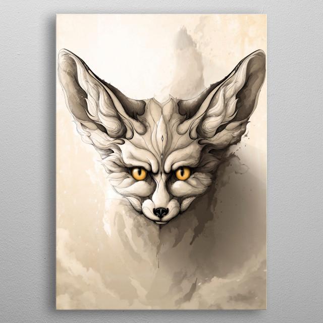 Wild Animals metal poster