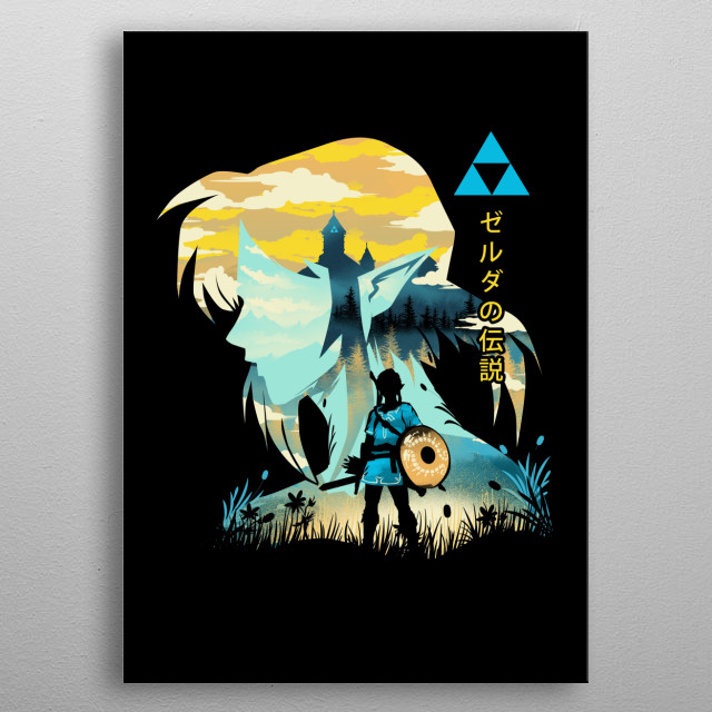 The Legend of the Wild metal poster