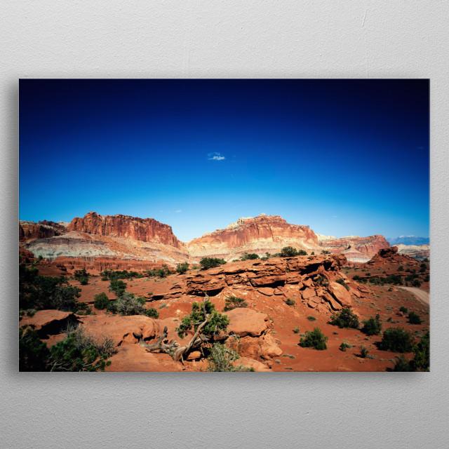 Capitol Reef National Park, Utah  metal poster