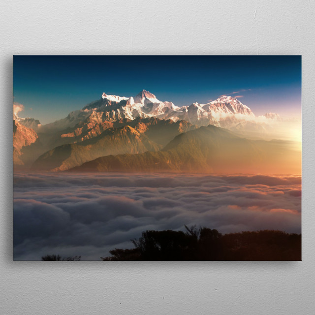 Fascinating metal poster designed by Conceptual Photography. Displate has a unique signature and hologram on the back to add authenticity to each design. metal poster