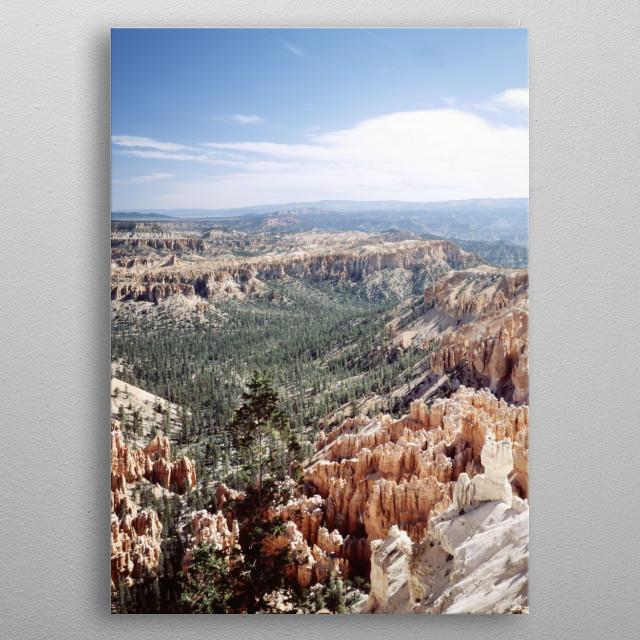 Bryce Canyon National Park, Utah  metal poster