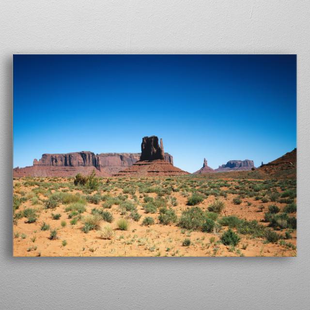 Desert Desolation  metal poster