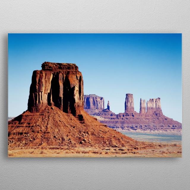 Monument Valley, Arizona  metal poster