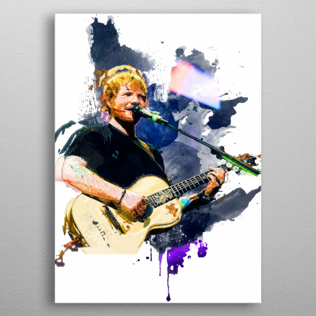 Unique prints. Beautiful and custom made works of art.  metal poster