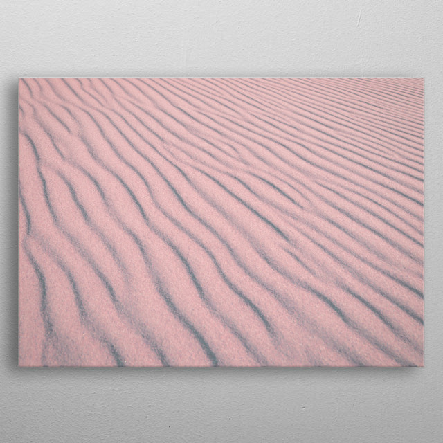 A portion of Great Sand Dunes National Monument and Preserve  metal poster