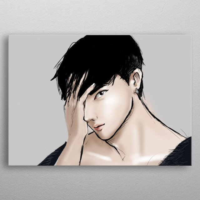 He is looking into your soul. The soul of Music and CPop metal poster