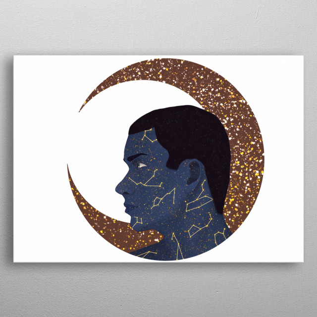 Have you ever been awake at 3 am? Do you remember the peace, the tranquility, the silence…? Who is responsible of keeping that peace? He is. metal poster